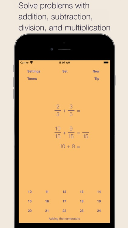 Fraction Math screenshot-3