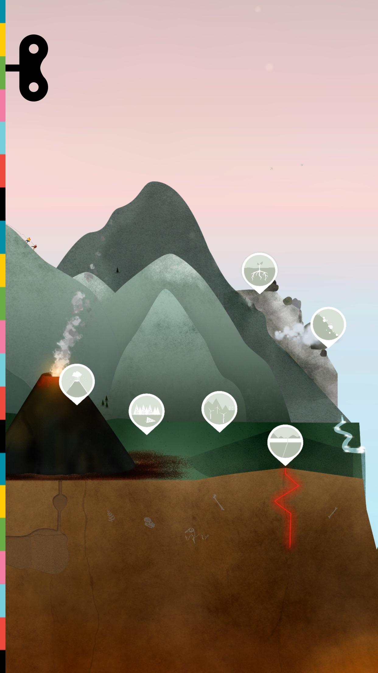 Screenshot do app A Terra por Tinybop