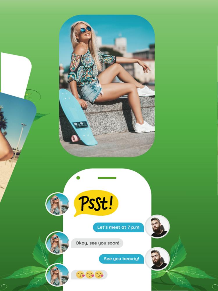 420 dating app iphone