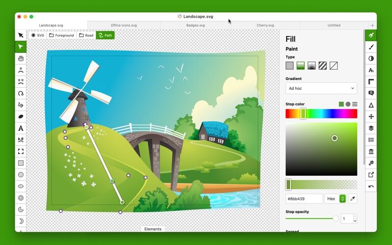 Boxy SVG Screenshots
