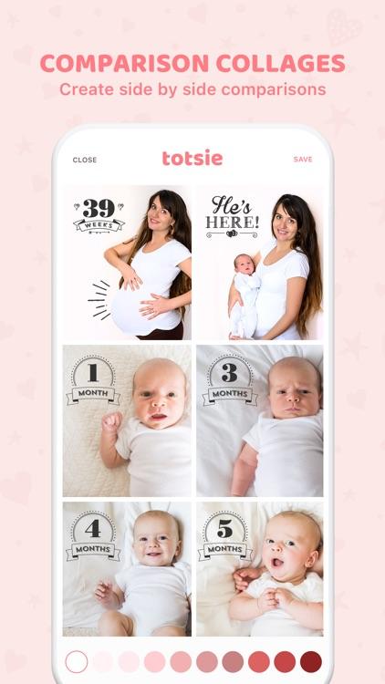 Totsie – Baby Photo Editor screenshot-3