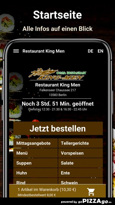Restaurant King Men Berlin screenshot 2