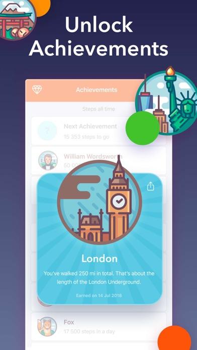 Stepz - Step Counter & Tracker Screenshot