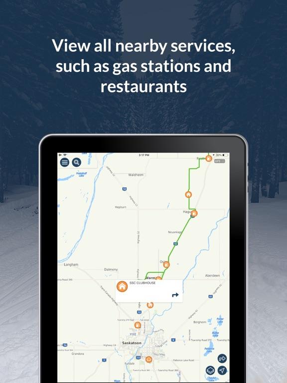 Sask Snowmobile Trails screenshot 8