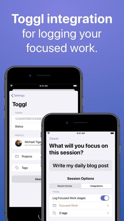 Focused Work: Focus Timer screenshot-5