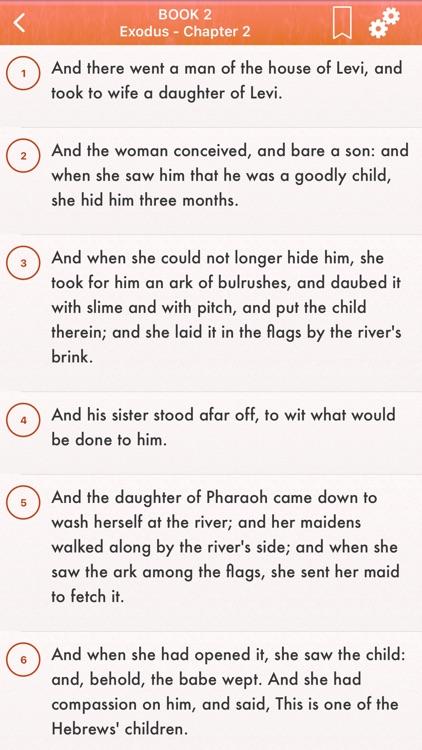 English Holy Bible: King James screenshot-5