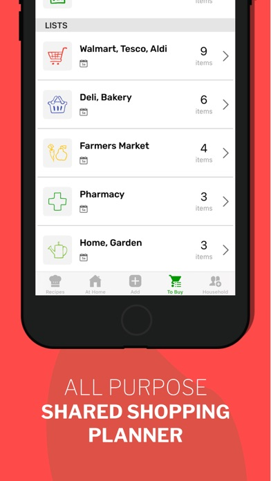 CozZo・Food Inventory Manager Screenshot