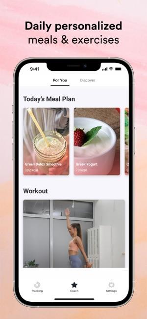 Bellabeat Wellness Coach Screenshot