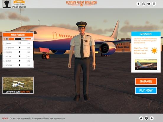 Ultimate Flight Simulator Pro iPad app afbeelding 6