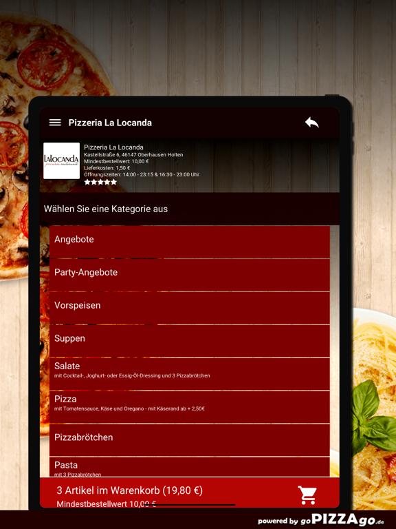 Pizzeria La Locanda Oberhausen screenshot 8