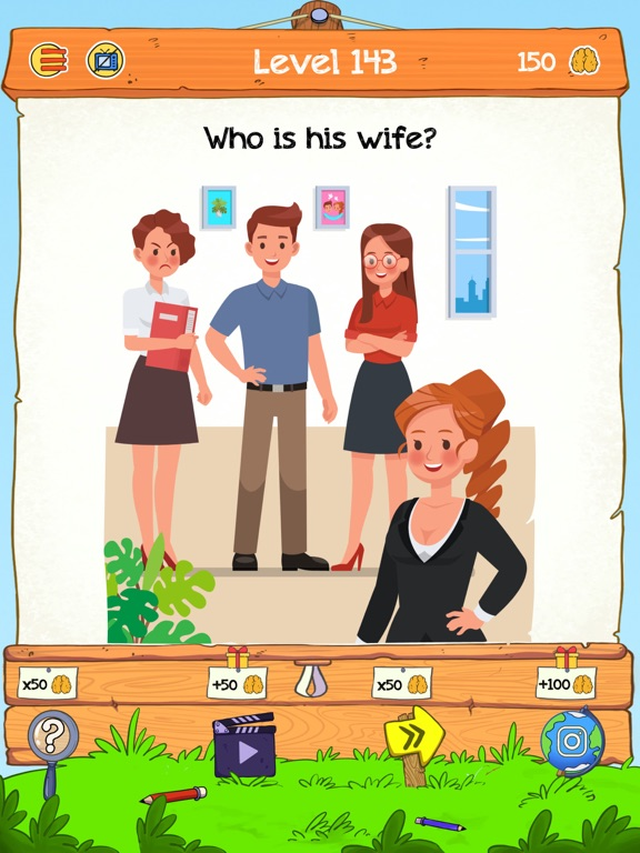 iPad Image of Braindom 2:Who is Who Riddles?