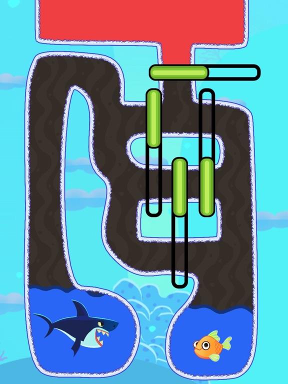 Save The Fish! Rescue Puzzleのおすすめ画像1