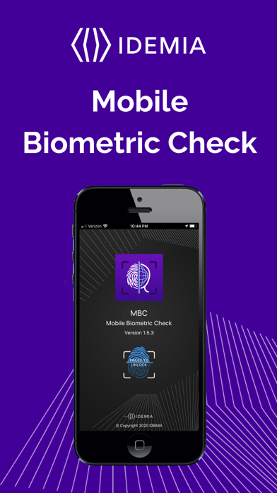 点击获取IDEMIA Mobile Biometric Check