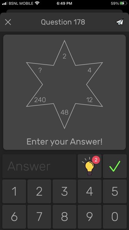 Brain Math: Logic Puzzle Games screenshot-4