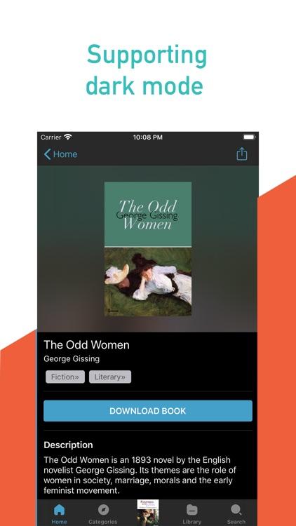 Ebook reader - Feedbooks screenshot-4