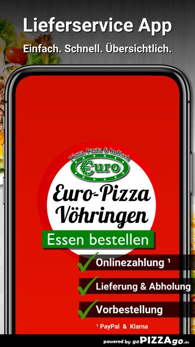 Euro-Pizza & Indisch Vöhringen screenshot 1