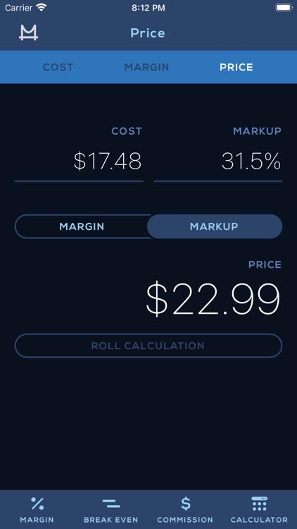 Cost Margin Calculator screenshot-3