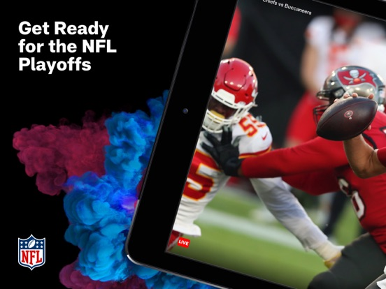 iPad Image of NFL