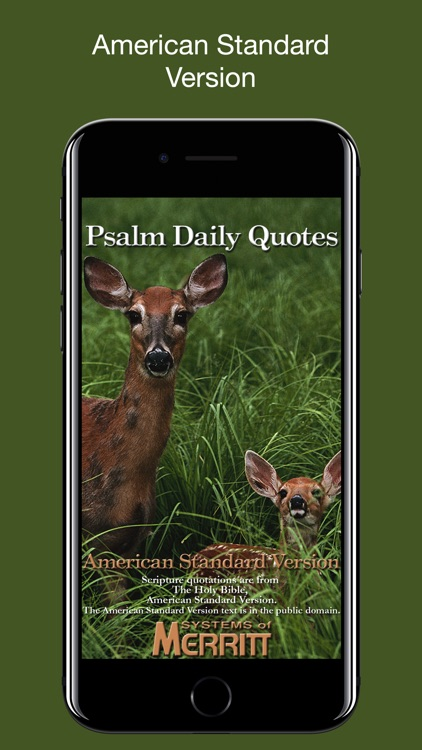 Psalm Daily Quotes ASV