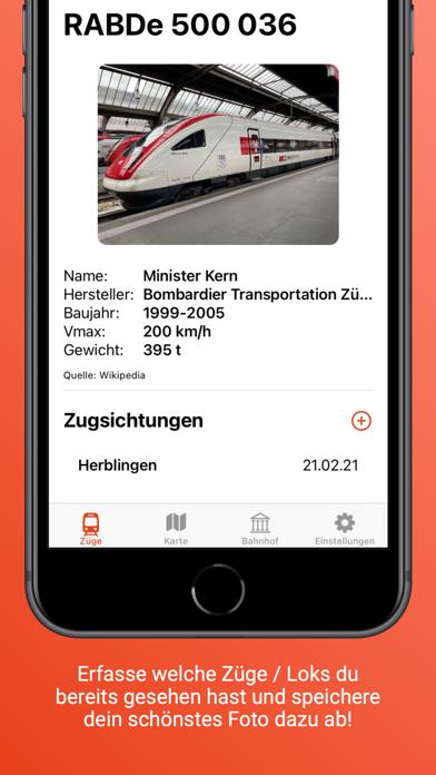 Swiss Trainbook screenshot 2