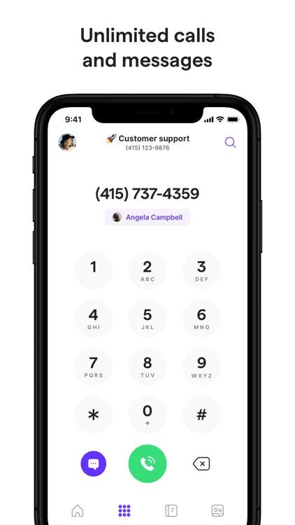 OpenPhone: Second Phone Number screenshot-3