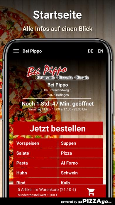 Bei Pippo Böfingen screenshot 2