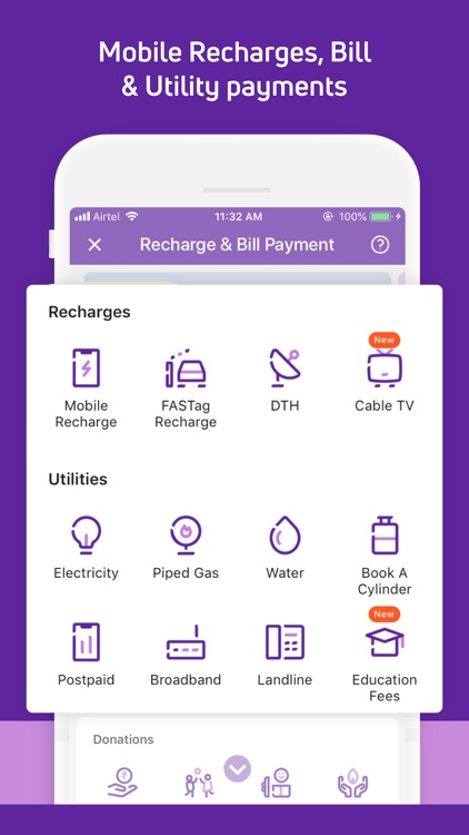 PhoneP‪e: Payments & Finance screenshot-3