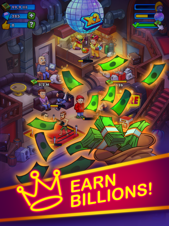 Party Clicker — Idle Tycoon iPad app afbeelding 4