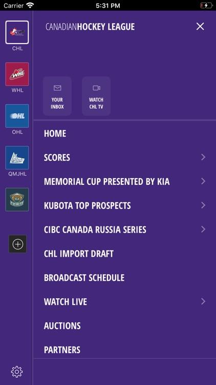 CHL: Official App screenshot-3