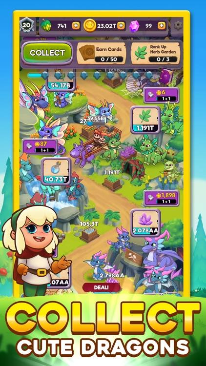 Dragon Idle Adventure screenshot-0