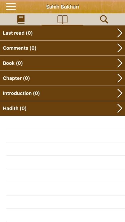 Sahih Bukhari: English,Arabic screenshot-4