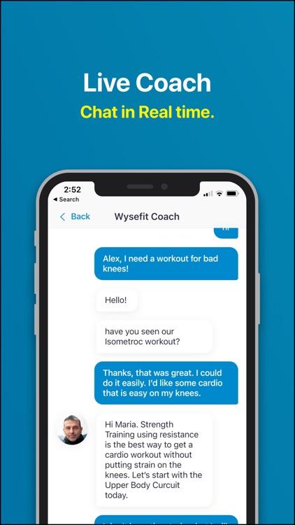 Wysefit: Exercise App for 50+ screenshot-5