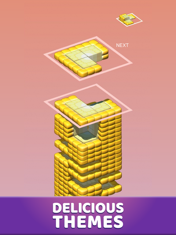 Juicy Stack - 3D Tile Puzzlеのおすすめ画像3