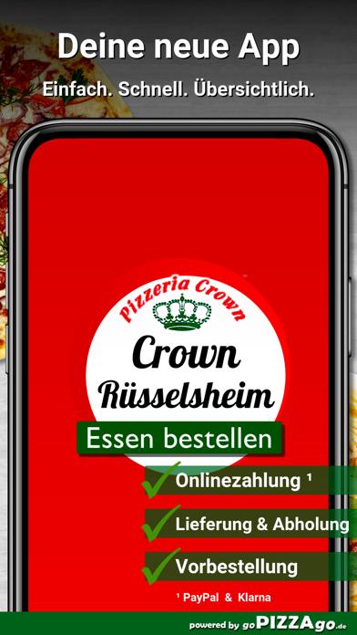Pizzeria Crown Rüsselsheim screenshot 2