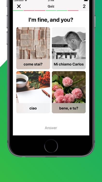 Learn Italian with LENGO screenshot-3