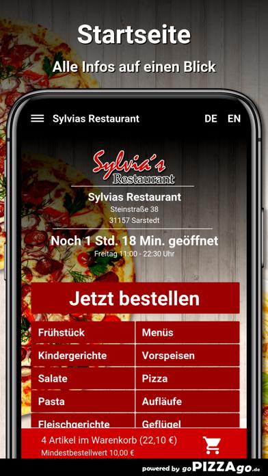 Sylvias Restaurant Sarstedt screenshot 2
