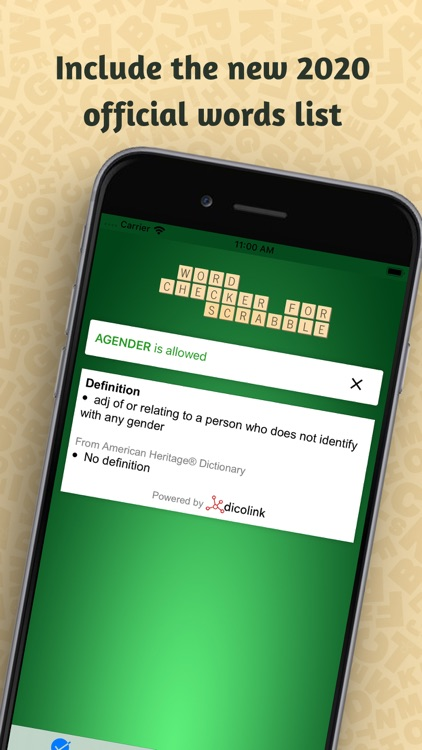 Word Checker for Scrabble® screenshot-0