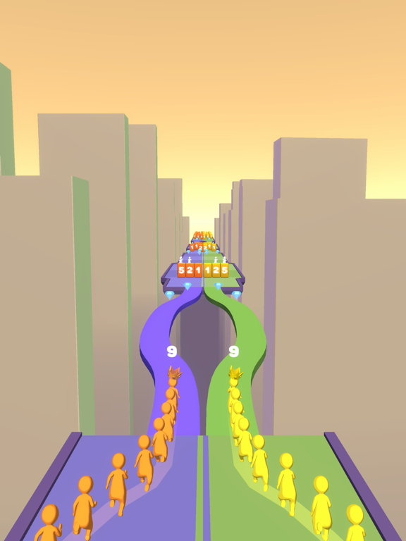 Crowd Snake Run screenshot 15