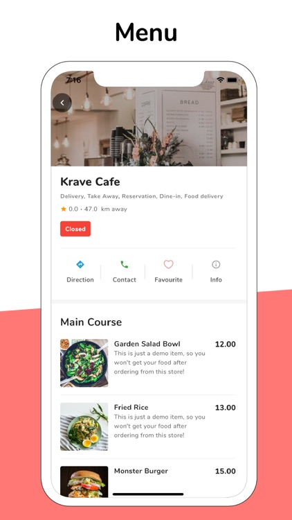 Krave - Food App screenshot-3