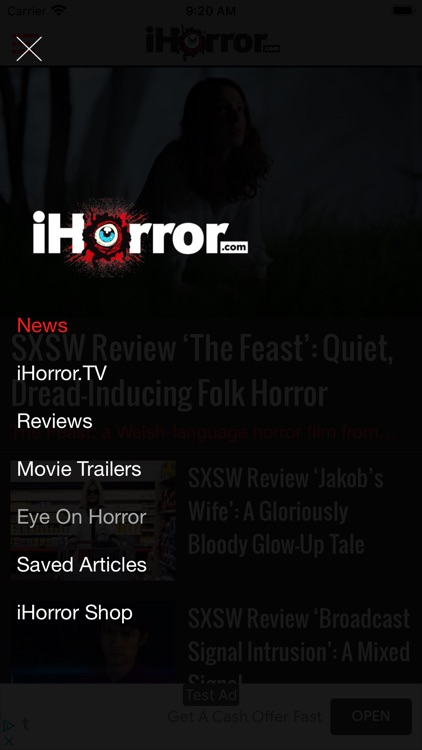 iHorror - Horror Movie News