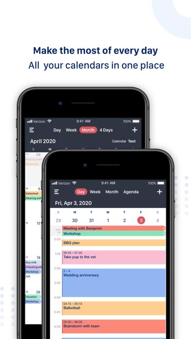 Tiny Calendar screenshot one