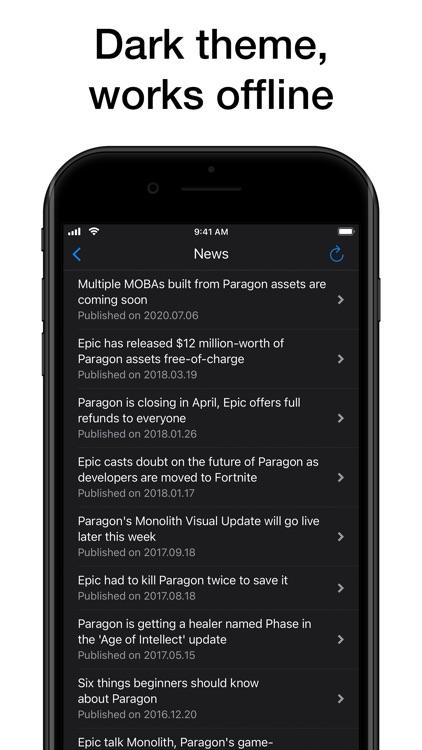 Pocket Wiki for Paragon screenshot-8