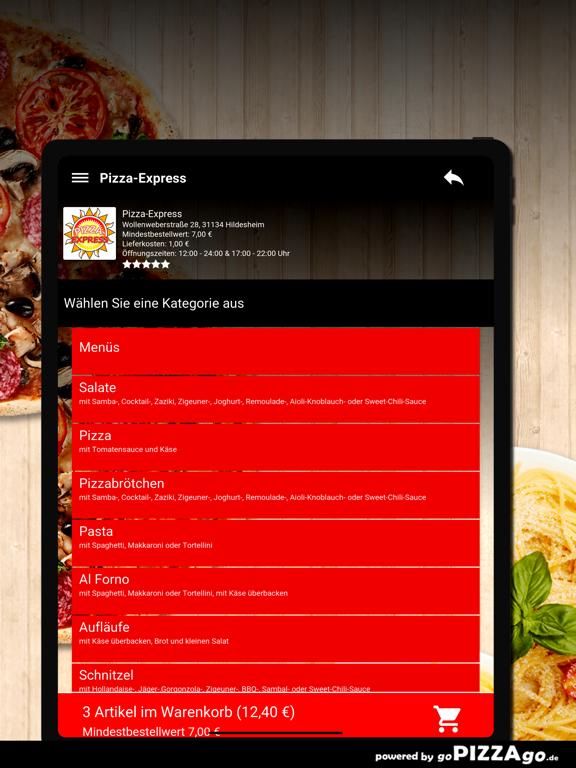 Pizza-Express Hildesheim screenshot 8