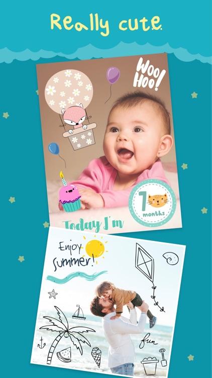 Cute - Baby Photo Editor screenshot-6