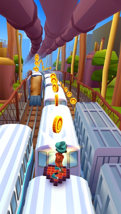 Subway Surfers iphone captures décran