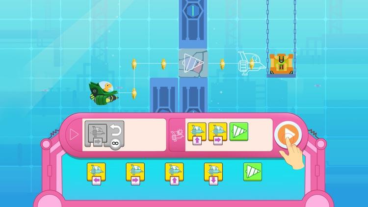 Dinosaur Coding games for kids screenshot-6