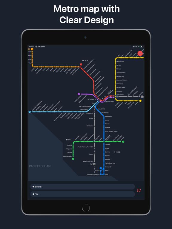 Metro LA - Los Angeles map screenshot 4