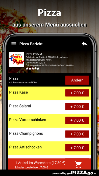 Pizza Perfekt Holzgerlingen screenshot 5