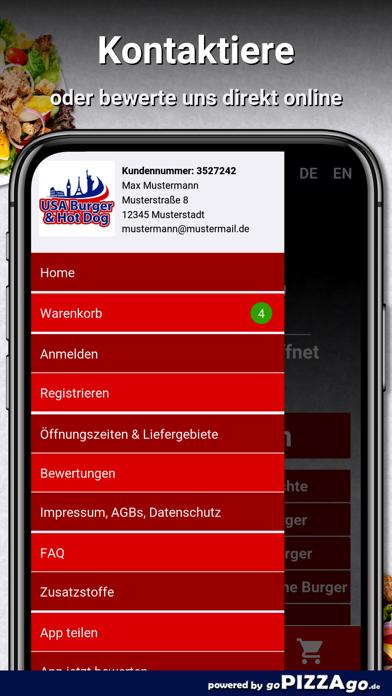 USA Burger Augsburg screenshot 3