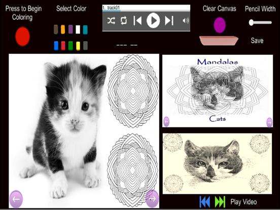 Mandalas - Cats screenshot 6